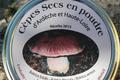 Cèpes secs en poudre de l'Ardèche et Haute Loire