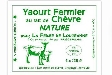 Yaourt fermier au lait de ch vre - Yaourt maison lait de chevre ...