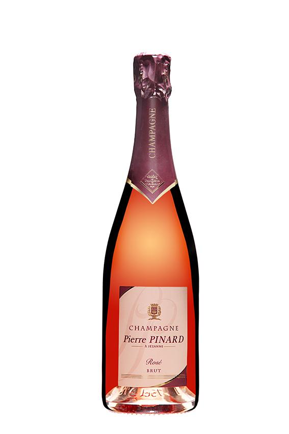 Champagne brut ros - Saignee a domicile ...