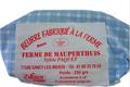 Beurre doux et demi sel ferme de Mauperthuis