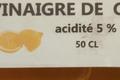 Vinaigre de citron