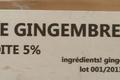 Vinaigre de gingembre