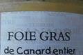 foie gras mi-cuit nature en verrine, les canardises