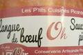 Langue de boeuf Ôh sauce piquante