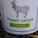 Domaine de Grignon, yaourt au lait de chèvre