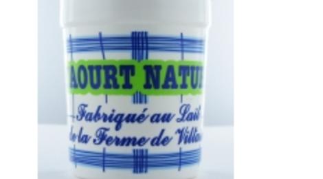 Yaourt Nature allégé, ferme de Viltain