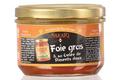 Foie gras de canard entier et sa gelée de piments doux