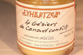 Ferme Eyhartzea, Bocal de 4 gésiers confits en conserve