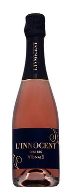 Effervescent cuvée Innocent Rosé Demi-Sec 2014 - 75 cl