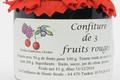 confiture aux trois fruits rouges