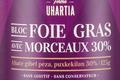Ferme Uhartia,  Bloc de foie gras de canard