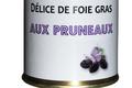 ferme Souletine, Délice de foie gras de canard aux pruneaux
