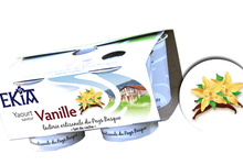 yaourt Ekia vanille
