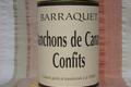 Barraquet, manchons de canard confits