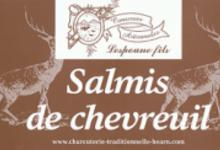 charcuterie Lespoune, salmis de chevreuil