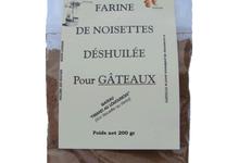 huilerie des Roches, Farine de noisettes