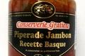 conserverie Gratien, Piperade Jambon recette Basque