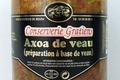 conserverie Gratien, Axoa de veau