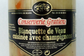 conserverie Gratien, Blanquette de veau cuisinée aux champignons