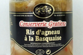 conserverie Gratien, Ris d'agneau à la Basquaise