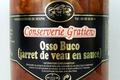 conserverie Gratien, Osso Buco (jarret de veau en sauce)