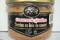 conserverie Gratien, Terrine au foie de canard bocal