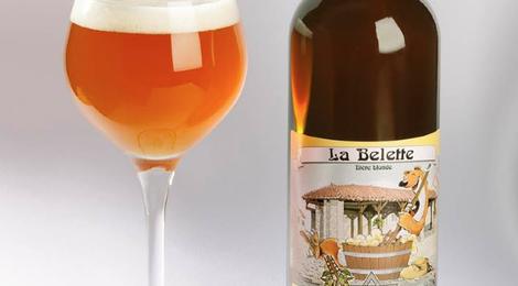 La Belette, bière blonde