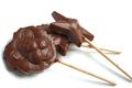 sucettes au chocolat