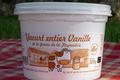 Ferme de la Fayaudrie, Yaourt entier vanille BIO
