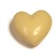 Coeur à croquer à deux, blanc