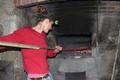 pains cuits au feu de bois