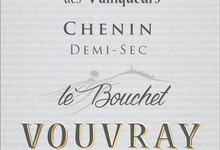 Vouvray Méthode Traditionnelle Demi Sec - Le Bouchet