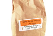 Ferme de la Cocanderie, Farine de blé complète