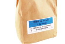 Ferme de la Cocanderie, Farine de sarrasin