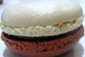 Patrick Migeon, macaron caramel chocolat parfumé à la vanille