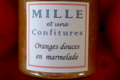 Oranges douces en marmelade