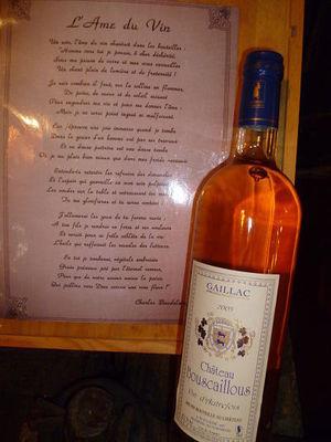 """Gaiilac Blanc Sec 2005 """"Vin d'Autrefois"""""""