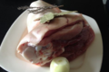 Ferme de La Houdrière, jarret de porc