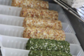 fromages ronds à l'ail ou au poivre