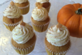 cupcake citrouille / cannelle
