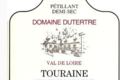 domaine Dutertre,  Touraine  Blanc Méthode traditionnelle