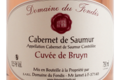 Domaine du Fondis, Saumur Rosé
