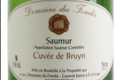 Domaine du Fondis, Saumur blanc