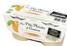 Dessert d'avoine bio parfum abricot
