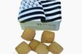 Boîte sucrette drapeau breton Sablés bretons au blé noir