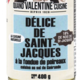Délice de Saint Jacques à la fondue de poireaux
