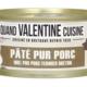 Paté pur porc 100% pur porc fermier breton