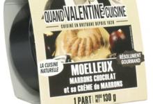 Moelleux marrons chocolat et sa crème de marrons bio