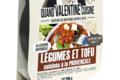 Légumes et tofu cuisinés à la provençale bio