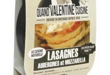 Lasagnes aubergines et mozzarella bio